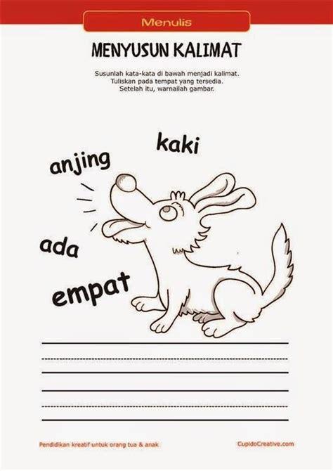 Belajar Menulis Dan Membaca 1 belajar membaca menulis anak tk sd menyusun kata