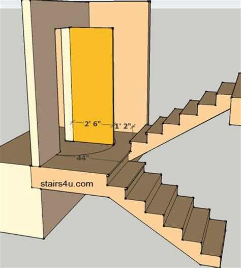 Building Stairs With A Landing beautiful building stairs with a landing 9 clearance door stair landings newsonair org