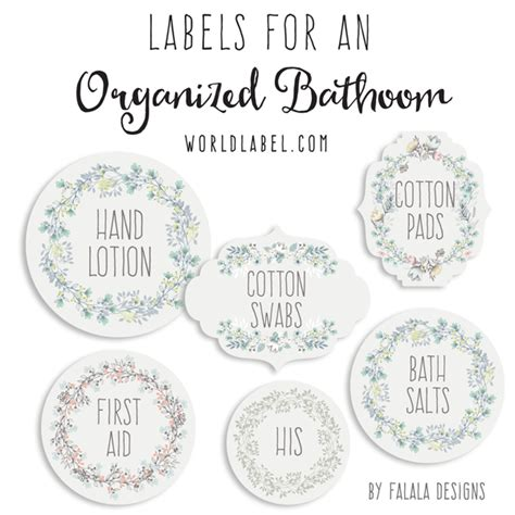 bathroom design templates bath and organizing labels worldlabel