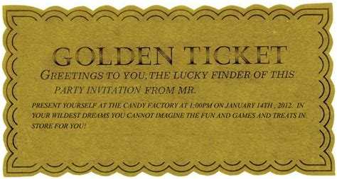 golden ticket invitation template musicalchairs us