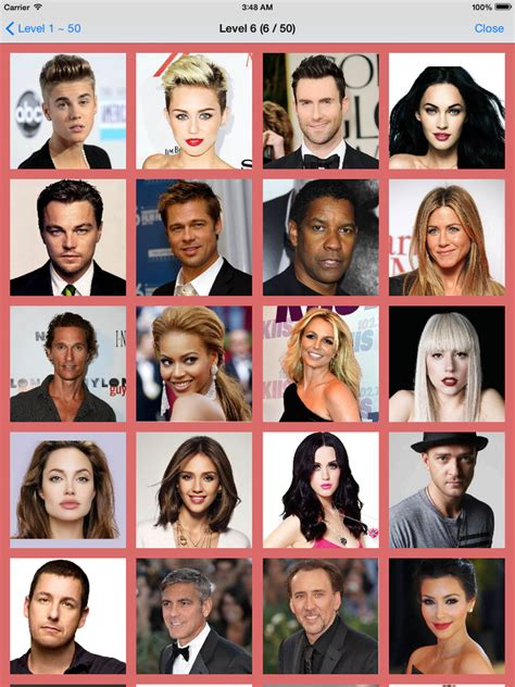 film actor quiz celebrities for celebrity faces quiz answers www