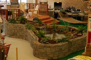 Small Backyard Fish Ponds by Pond Pictures Indoor Water Features Ace Hardware Display Pond