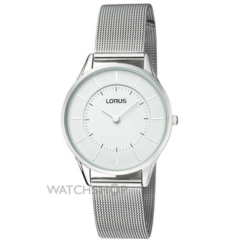 Ladies' Lorus Ultra Slim Mesh bracelet Watch (RTA33AX9)   WATCH SHOP.com?