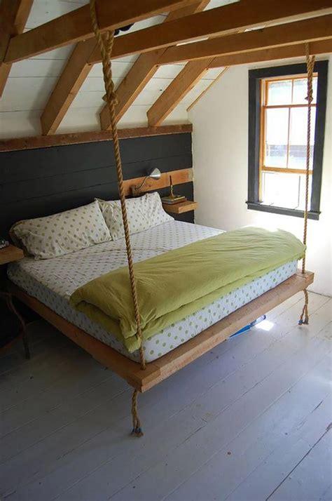 pipì a letto cause lit suspendu ou l originalit 233 design dans notre chambre