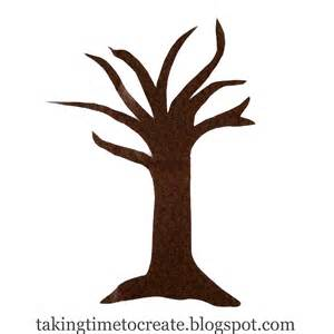 Tree Trunk With Branches Template by Tree Trunk Clipart Outline Clipartsgram