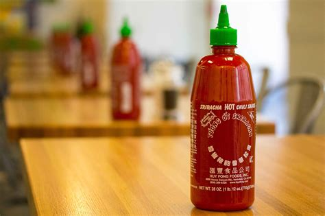 sriracha bottle 12 super weird foods you can expect to eat in 2016 stay