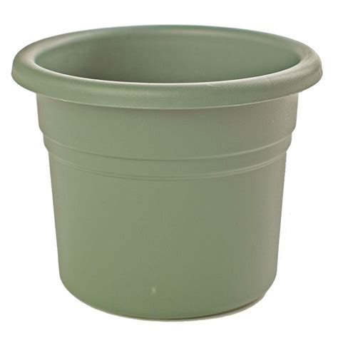 home depot plastic planters bloem 28 in peppercorn plastic planter mp2428 60