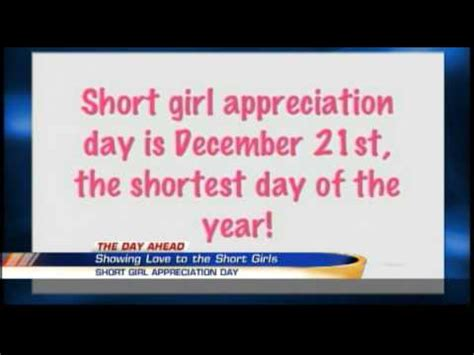 Nbc 3 Twitter Trends Short Girl Appreciation Day 12 22 2014 Youtube | nbc 3 twitter trends short girl appreciation day 12 22