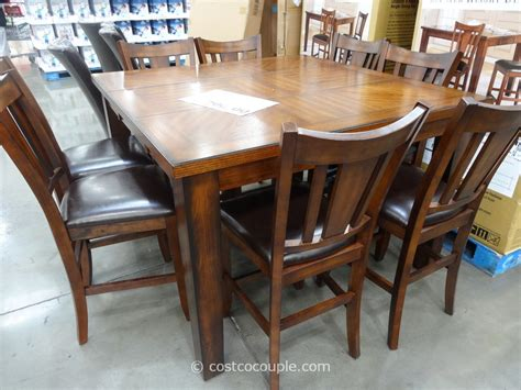 dining set with bench costco dining table unique dining table sets costco ideas