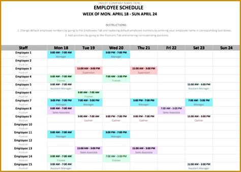 Weekend On Call Schedule Template 4 Weekend On Call Schedule Template Fabtemplatez