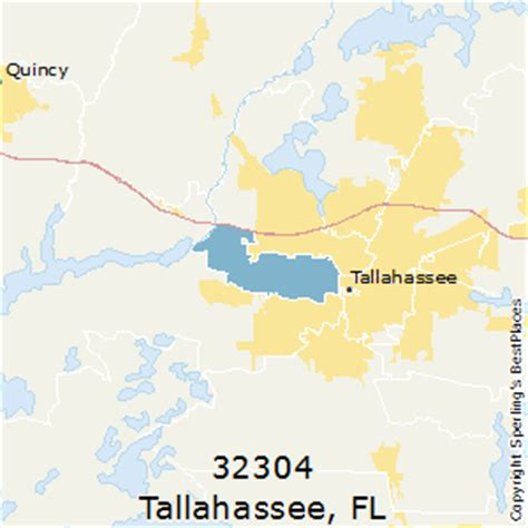 zip code map tallahassee best places to live in tallahassee zip 32304 florida