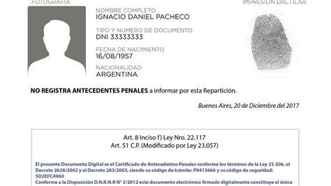 antecedentes no penales df por internet 2015 el certificado de antecedentes penales ya se puede obtener