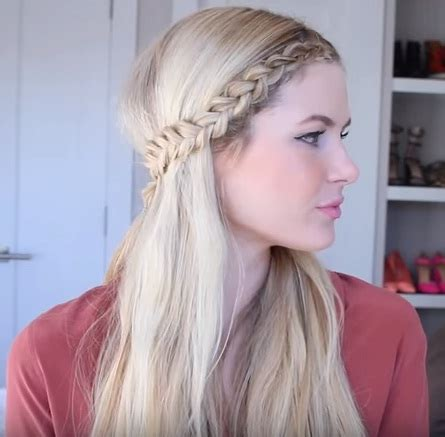 front braids hairstyles how to get an easy front row braided hairstyle in 4 steps beauty