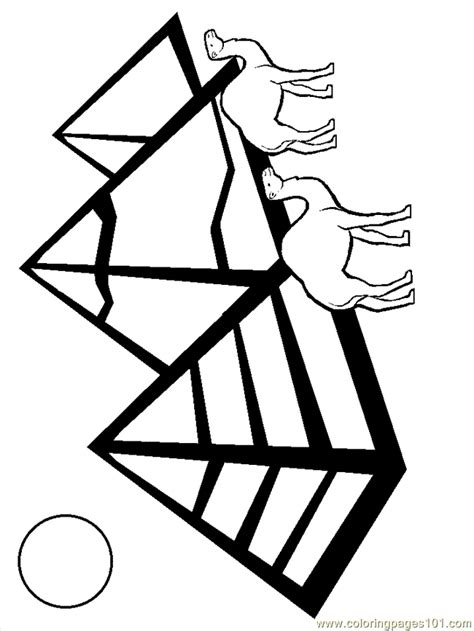 coloring page egypt flag free coloring pages