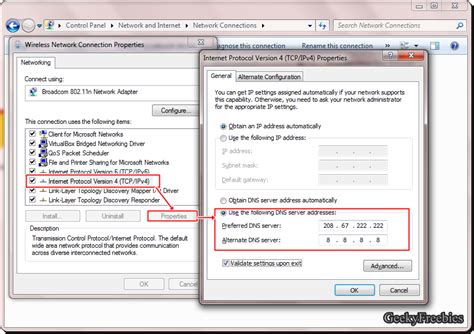better dns than how to change dns server in windows 7 and vista