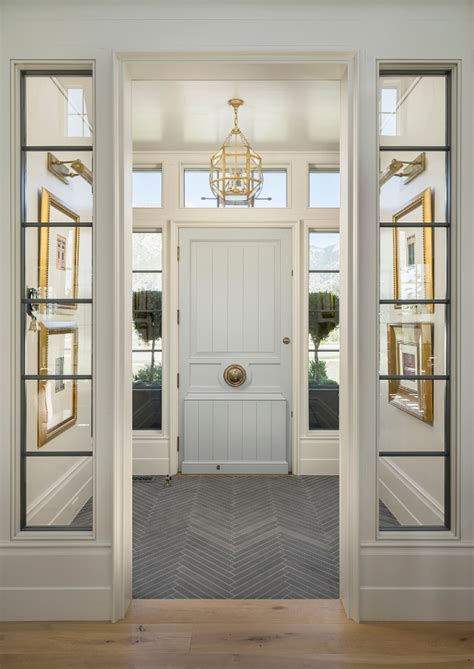 entry vestibule lovely vestibule with herringbone slate floor love the
