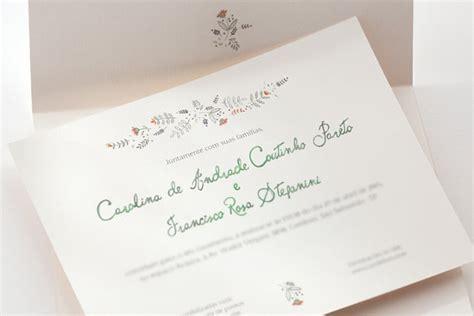 convite de casamento flores em aquarela os convites de casamento em aquarela da bia coutinho