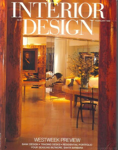 1990s interior design oldmags com interior design february 1990 product details