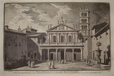 vasi roma galleria trincia chiesa e monastero di s cecilia