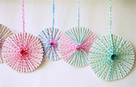 String Crafts - the tiny funnel string ornaments