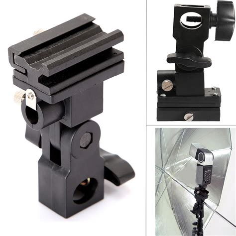 light stand mount photo flash adapter shoe swivel light stand mount