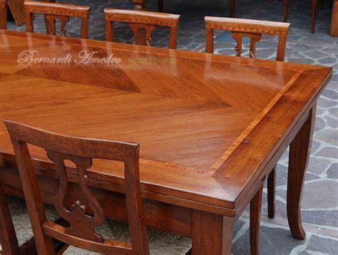 tavolo in noce allungabile tavoli allungabili in noce 12 tavoli