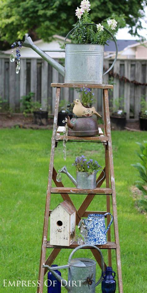 Craft Mosaic Tiles by Watering Can Garden Art Ideas Empress Of Dirt