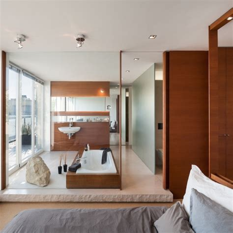 badezimmer im schlafzimmer 106 badezimmer bilder beispiele f 252 r moderne badgestaltung