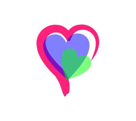 heart pattern logo image gallery heart logos