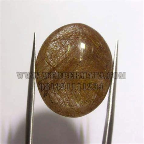 Kecubung Rambut Emas Cendana batu permata kecubung rambut merah permata mulia agate asli