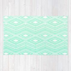 Mint Elephant Rug by Chevron Mint Green White Green Mint Green And