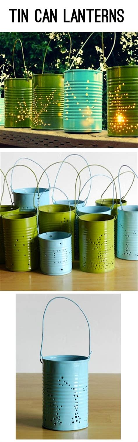 tin can lanterns do it yourself crafts dump a day