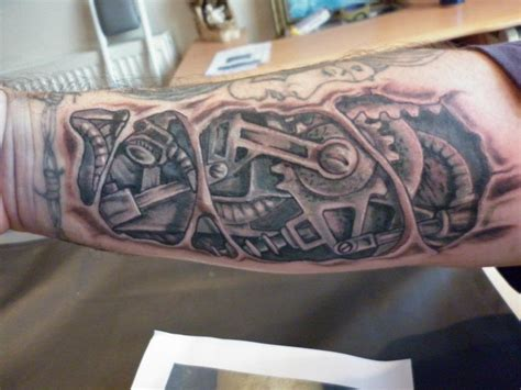 tattoo mechanical designs mechanical tattoos car interior design