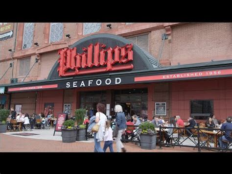 baltimore restaurant phillips seafood youtube