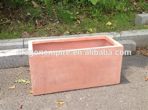 Rectangular Terracotta Planters by Wholesale Fiberglass Clay Planters For Garden Fiberglass Window Planter Box Rectangular