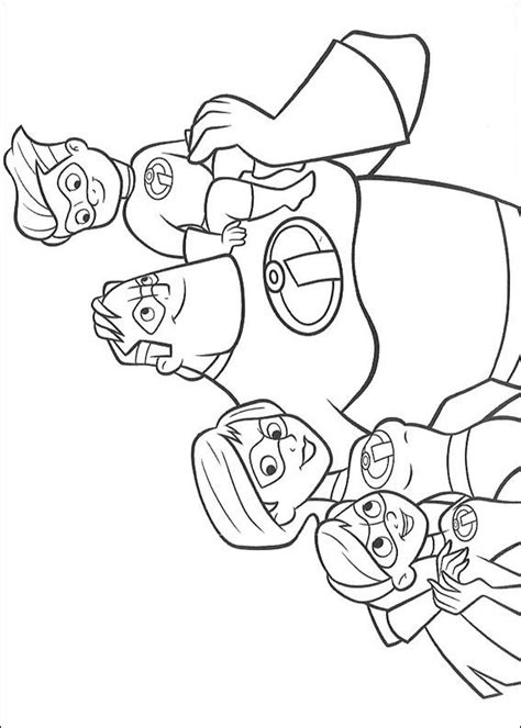 Coloring Page Incredibles by N 62 Coloring Pages Of Incredibles