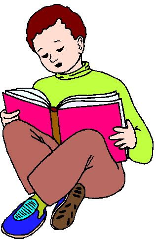 read clipart reading clip activities picgifs