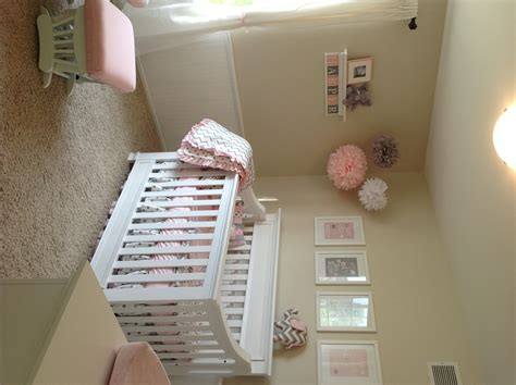 pink nursery harper s pink grey chevron elephant nursery project