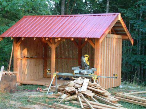 Post And Beam Sheds by Post And Beam Wood Shed Framing Kits Nanaimo