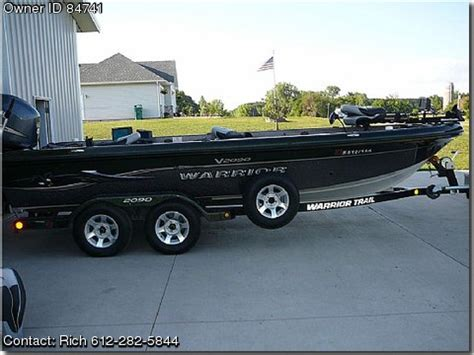 used warrior boats minnesota 2006 warrior bt 2090 by owner boat sales