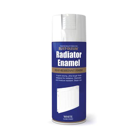 spray paint radiator rust oleum radiator enamel gloss spray paint white 400ml