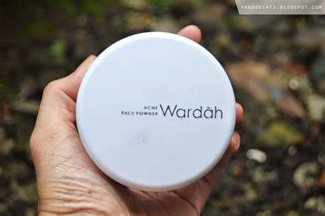 Bedak Wardah review bedak tabur wardah powder acne series one