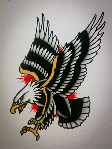 american traditional tattoo eagle 25 best ideas about traditional eagle on