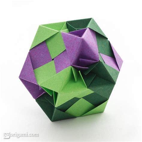 Tomoko Fuse Origami - mozaic with facets modular by tomoko fuse go origami