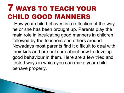 the stories that teach families how to live well books 7 ways to teach your child manners