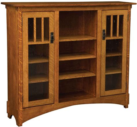 weaver s debuts new mission bookcase amish furniture