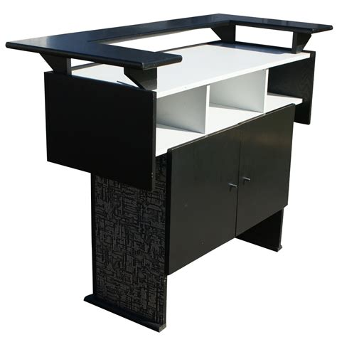 martini bar furniture metro retro furniture mid century modern ebonized mini