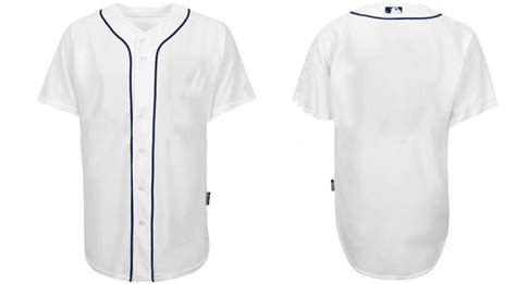 baseball jersey template blank baseball jerseys white gold
