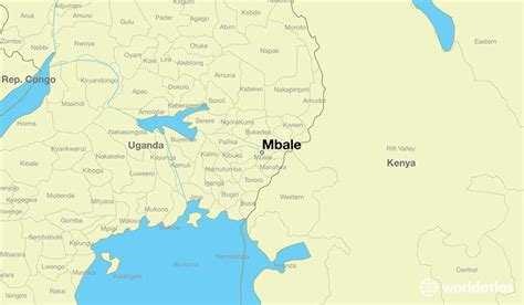 uganda on world map where is mbale uganda where is mbale uganda located