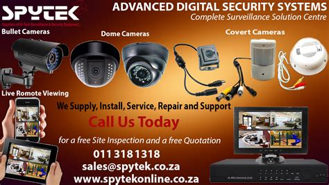 security equipment spytek surveillance and security